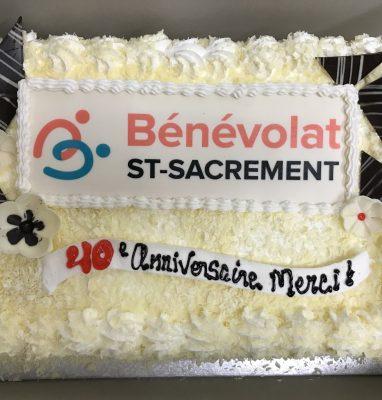 Gâteau 40e anniversaire